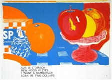 Tom Wesselmann original lithograph