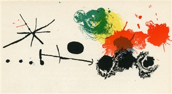Joan Miro original lithograph | Mourlot Press