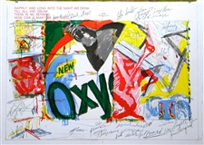 James Rosenquist original lithograph