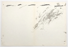 Antoni Tapies original lithograph, 1967