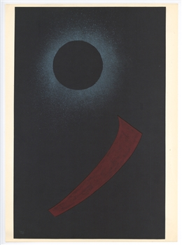 "Wassily Kandinsky lithograph ""Gouache number 688"""