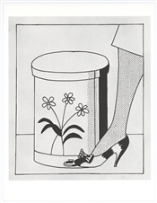 "Roy Lichtenstein ""Step on Can (Closed)"""