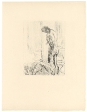 "Pierre Bonnard ""Interieur"" original lithograph, edition of 20 on japon"