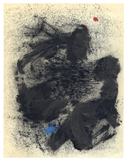 "Joan Miro ""La baigneuse de Calamayor"" pochoir 1961"