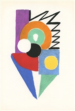 Sonia Delaunay pochoir Tableaux Vivants