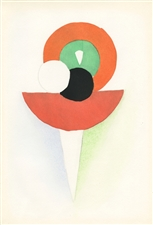 Sonia Delaunay pochoir | Tableaux Vivants