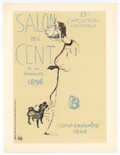"Pierre Bonnard lithograph ""Salon des Cent"""