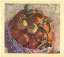 "Pierre Bonnard ""Corbeille de fruits"" 1927"