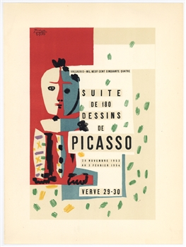 Pablo Picasso lithograph Dessins for Verve