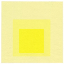"Josef Albers silkscreen ""Homage to the Square"" 1964"