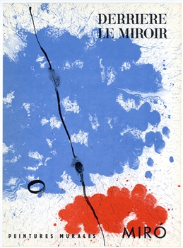 Joan Miro original lithograph, 1961
