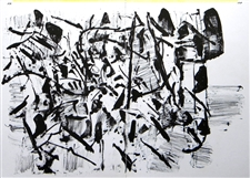 Jean-Paul Riopelle original lithograph, 1964