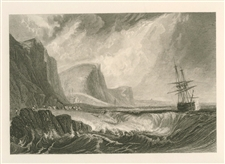 J. M. W. Turner Bridport engraving