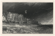J. M. W. Turner Deal engraving