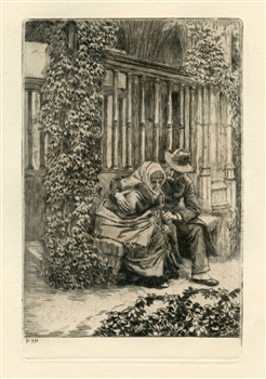 James Tissot original etching