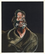 "Francis Bacon lithograph ""George Dyer"""