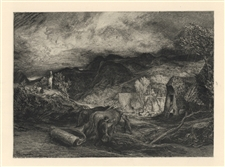 "Samuel Palmer ""Morning"" from the Shorter Poems of John Milton"