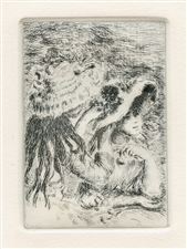 "Pierre-Auguste Renoir ""Le chapeau epingle"" original etching"