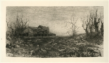 Stephen Parrish November original etching