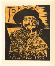 Pablo Picasso lithograph poster Mourlot Vallauris