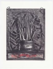 Jasper Johns Savarin