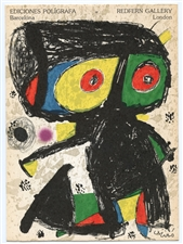 Joan Miro original lithograph (Couverture) 1979