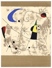Joan Miro pochoir for XXe Siecle