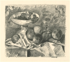 Maurice Denis original lithograph Nature morte