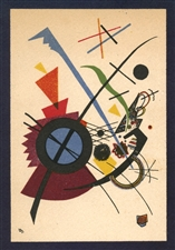 Wassily Kandinsky lithograph Violet
