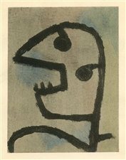 Paul Klee pochoir printed by Jacomet
