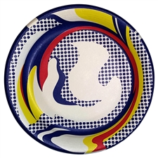Roy Lichtenstein Paper Plate screenprint