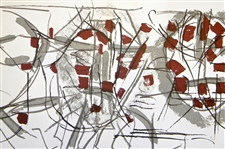 Jean-Paul Riopelle original lithograph 1974