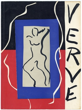 Henri Matisse lithograph for Verve, 1937