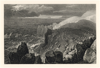 J. M. W. Turner engraving Land's End