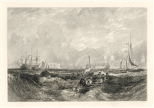 J. M. W. Turner engraving Portsmouth