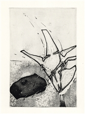 Enrique Zanartu original etching