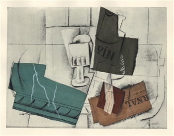 Picasso Venti Pochoirs Le Journal