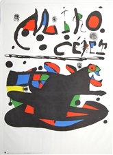 Joan Miro lithograph Ceret