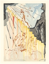 Salvador Dali Divine Comedy The Celestial Stair