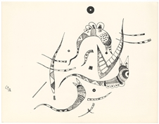 Wassily Kandinsky lithograph for XXe Siecle