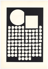 Victor Vasarely serigraph 1959