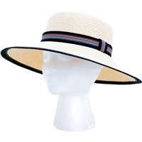 Sloggers Sun Hat Black & White UPF 50+