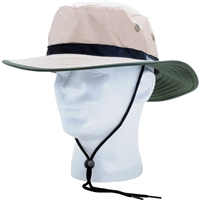 Sloggers Nylon Sun Hat with Wind Lanyard UPF 50+