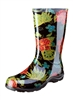 Sloggers Made in the USA Women's Rain Boots - Midsummer Black Print