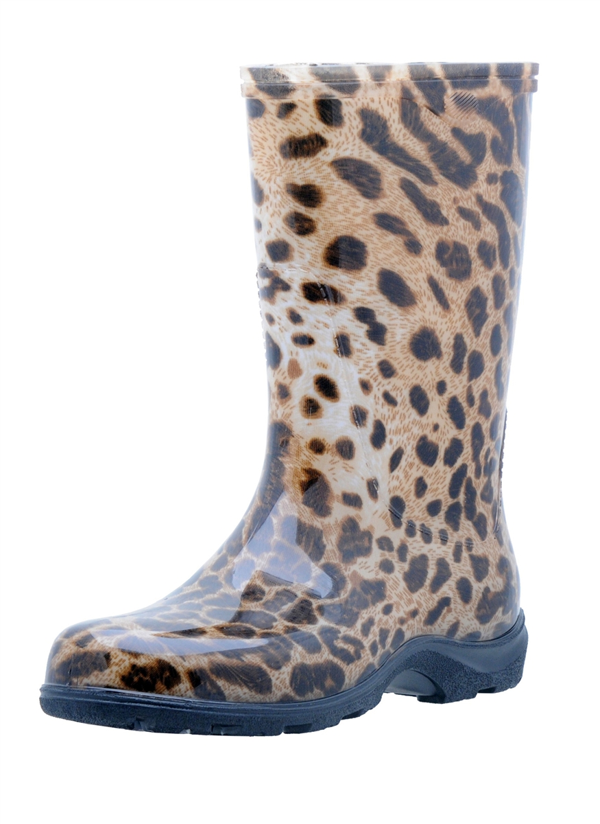 Leopard Fashion Rain Boot