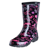 Sloggers HOPE Print Women's Rain Boots - Made in the USA