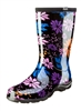 Sloggers Made in the USA Women's Rain Boots Flower Power Print