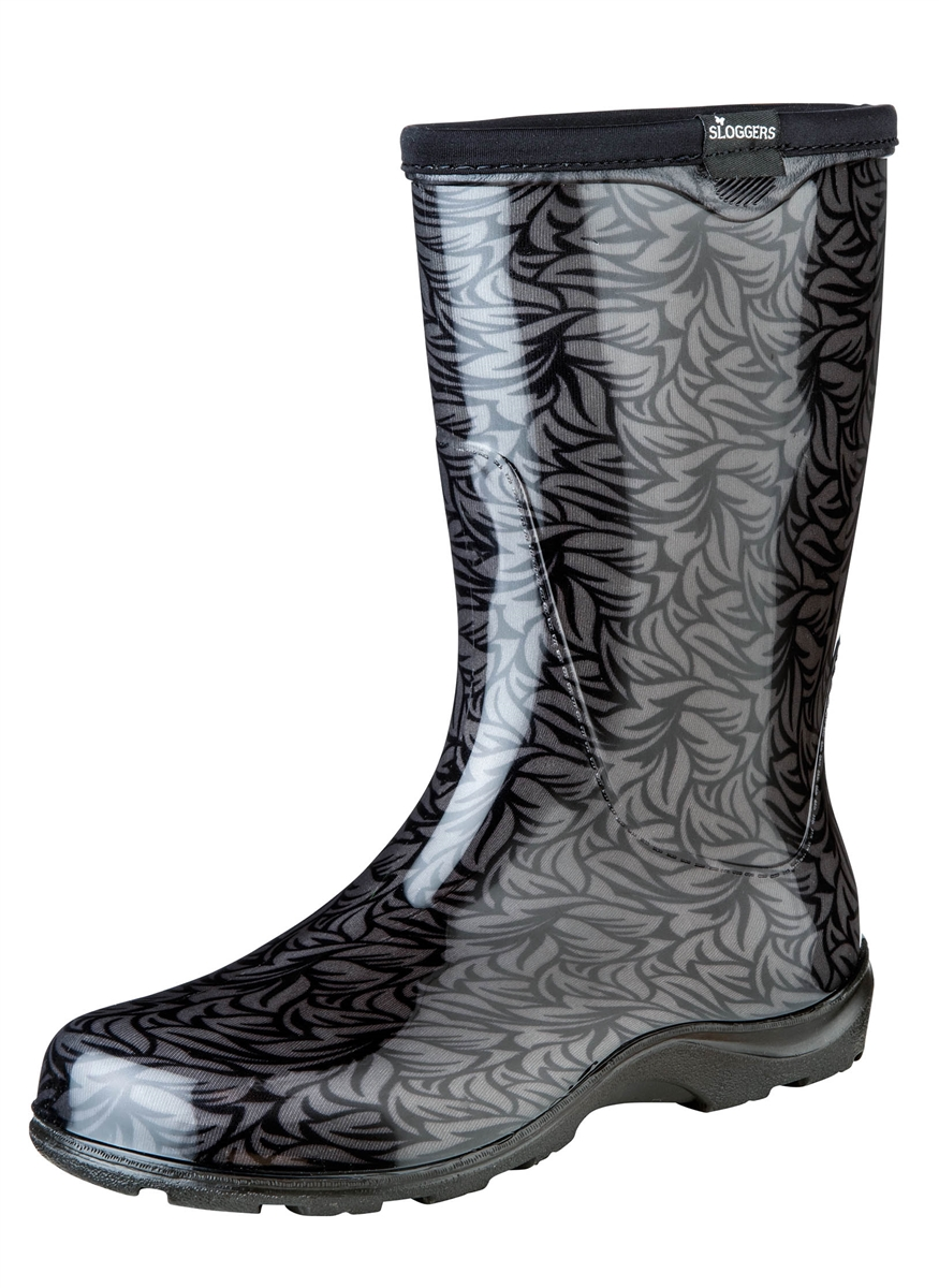 Elegant Fashion Rain Boots By Sloggers. Waterproof Comfortable And Fun. Made In The USA