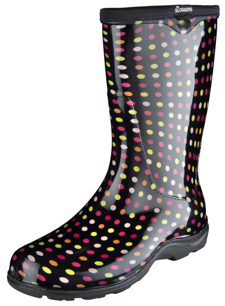 Perfect Fashion Rain Boots By Sloggers. Waterproof Comfortable And Fun. Made In The USA. New 2017