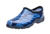 Sloggers Women's Rain & Garden Shoes in Leaf Print Blue